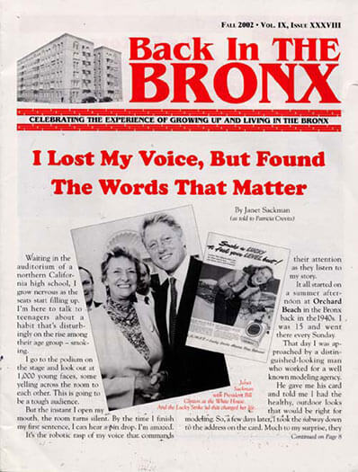 Latest issue of Back in the Bronx