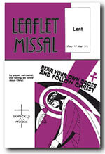 Leaflet Missal 1 of 5