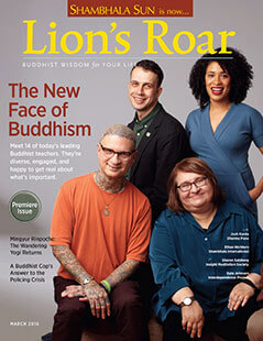 Latest issue of Lion's Roar