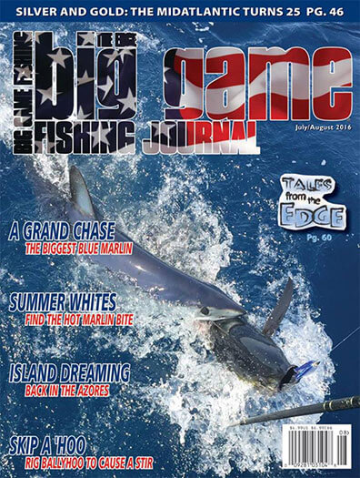 Latest issue of Big Game Fishing Journal