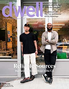 Latest issue of Dwell