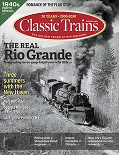 Latest issue of Classic Trains