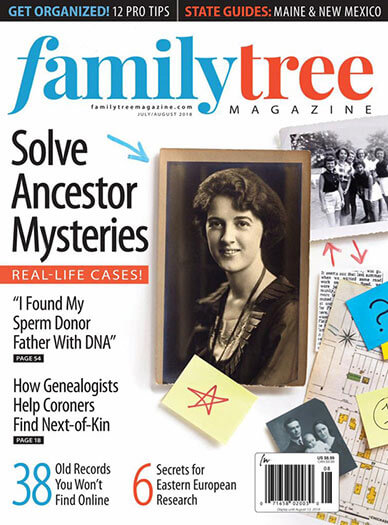 Latest issue of Family Tree Magazine