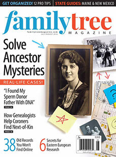 Latest issue of Family Tree