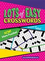 Lots of Easy Crosswords 1 of 5