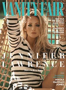 Latest issue of Vanity Fair Magazine