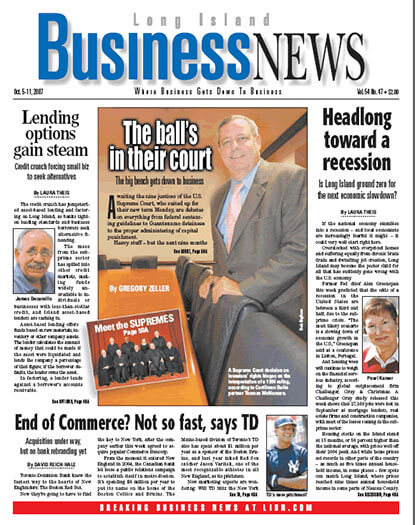 Latest issue of Long Island Business News