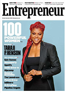 Latest issue of Entrepreneur