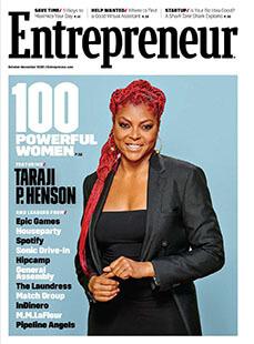 Latest issue of Entrepreneur