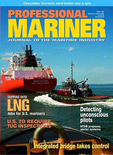 Latest issue of Professional Mariner