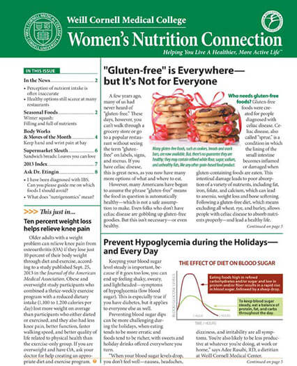 Latest issue of Women's Nutrition Connection Magazine
