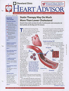 Latest issue of Heart Advisor Magazine