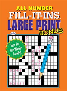 Latest issue of All Number Fill It Ins Bonus