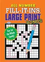 All Number Fill-It-Ins-Bonus 1 of 5
