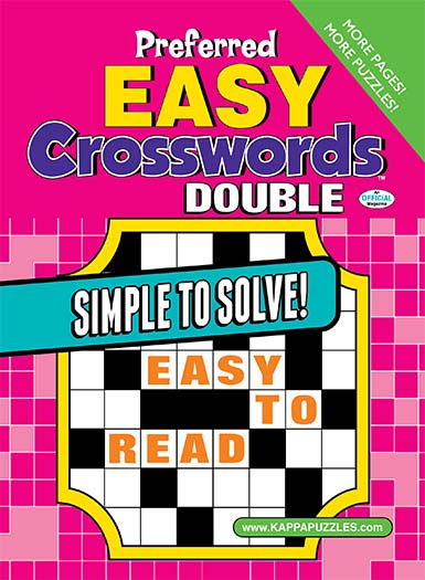 Latest issue of Preferred Easy Crosswords - Double Magazine