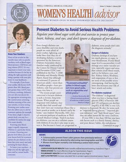 Best Price for Women's Health Advisor Magazine Subscription