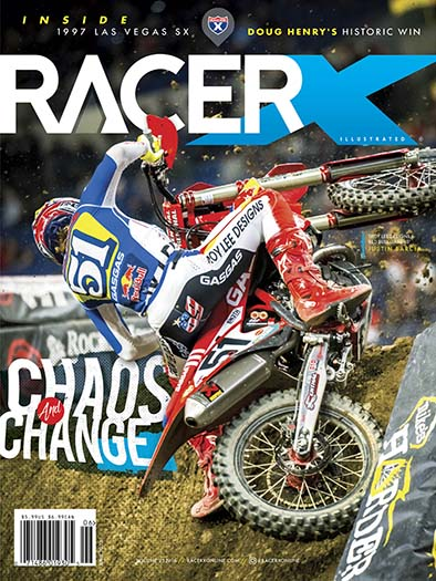 Latest issue of Racer X Illustrated