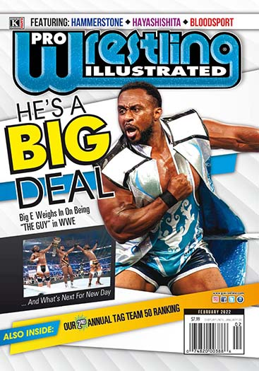 Latest issue of Pro Wrestling Illustrated