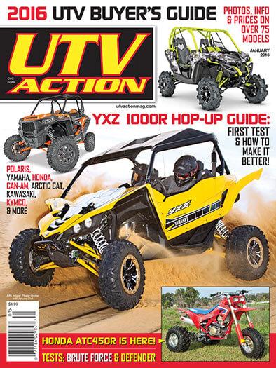 Latest issue of UTV Action Magazine