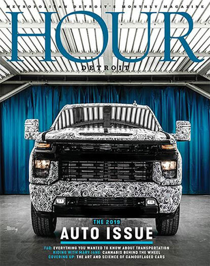 Latest issue of Hour Detroit Magazine