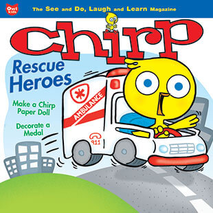 Latest issue of Chirp