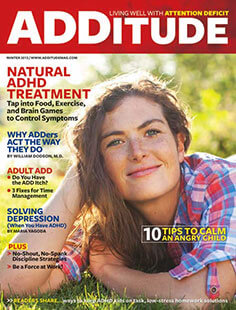 Latest issue of Additude