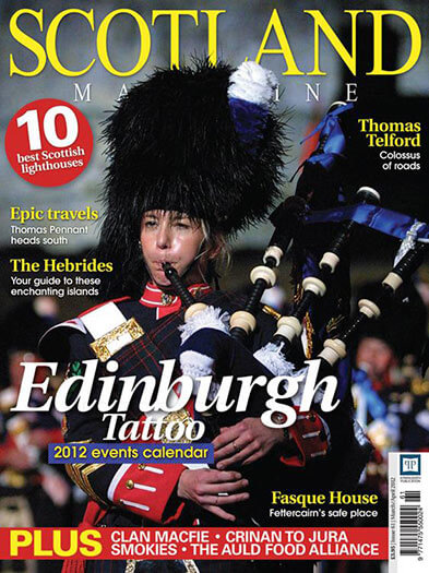 Latest issue of Scotland Magazine