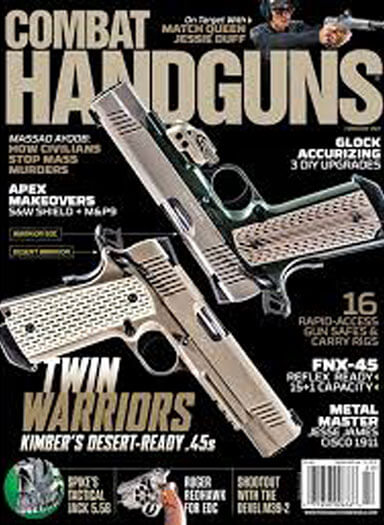 Latest issue of Combat Handguns