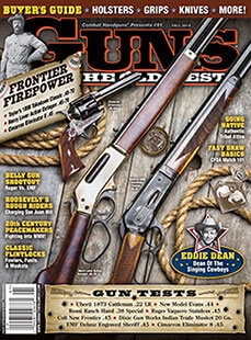 Latest issue of Guns of the Old West