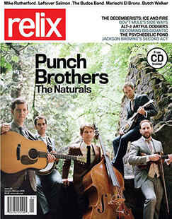 Latest issue of Relix Magazine