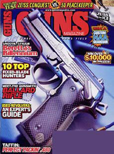 Latest issue of Guns Magazine