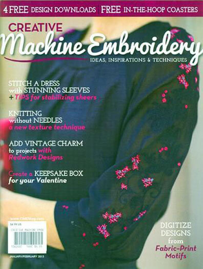 Latest issue of Creative Machine Embroidery