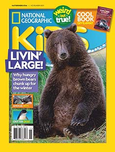 Latest issue of National Geographic Kids