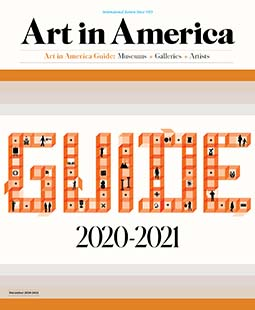 Latest issue of Art in America