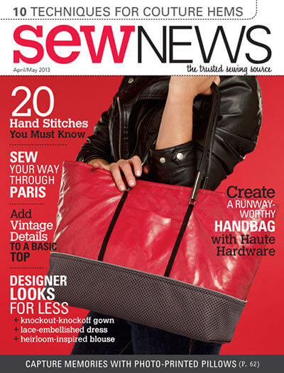 Latest issue of Sew News Magazine