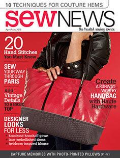 Latest issue of Sew News Magazine