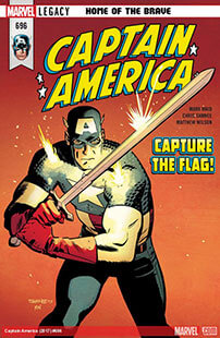 Latest issue of Captain America
