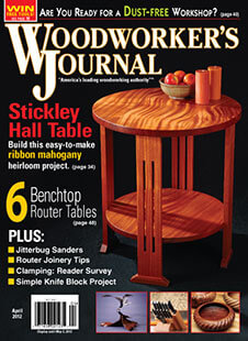 Latest issue of Woodworker's Journal Magazine