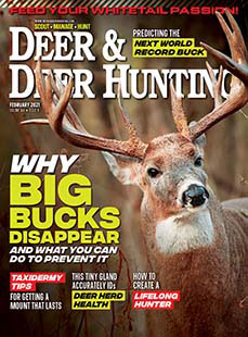 Latest issue of Deer and Hunting Magazine