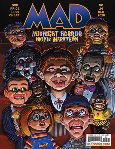 Latest issue of MAD Magazine