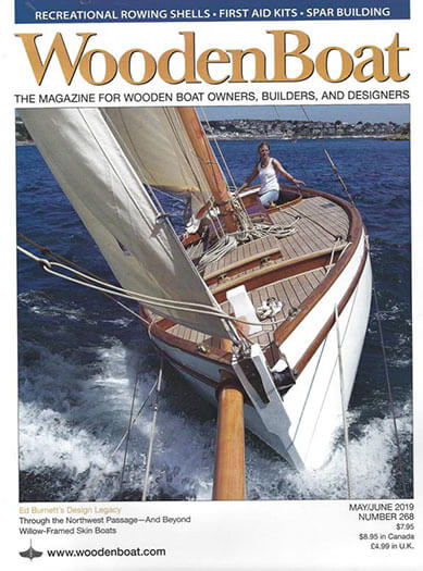 Latest issue of WoodenBoat Magazine