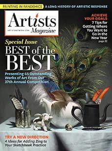 Latest issue of Artists Magazine