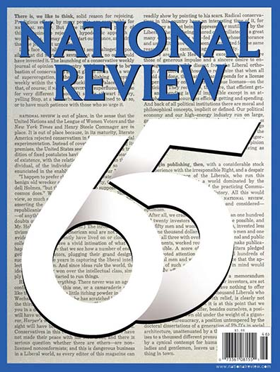 Latest issue of National Review