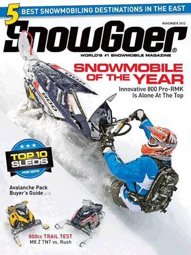 Latest issue of Snow Goer Magazine