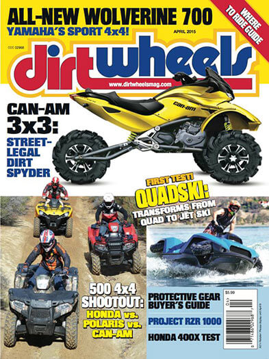 Latest issue of Dirt Wheels
