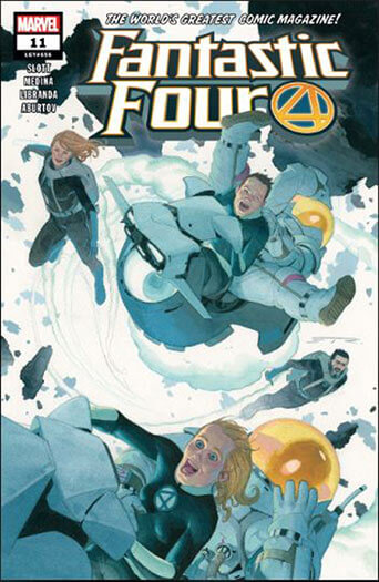 Latest issue of Fantastic Four