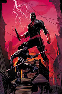 Latest issue of Daredevil Magazine