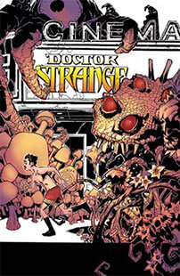 Latest issue of Doctor Strange