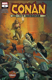 Latest issue of Conan the Barbarian