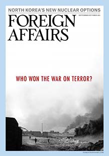Latest issue of Foreign Affairs Magazine